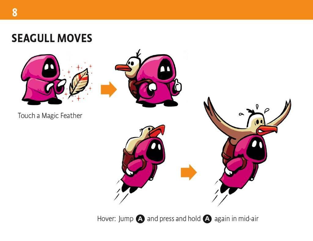 Captura del manual de Micro Mages
