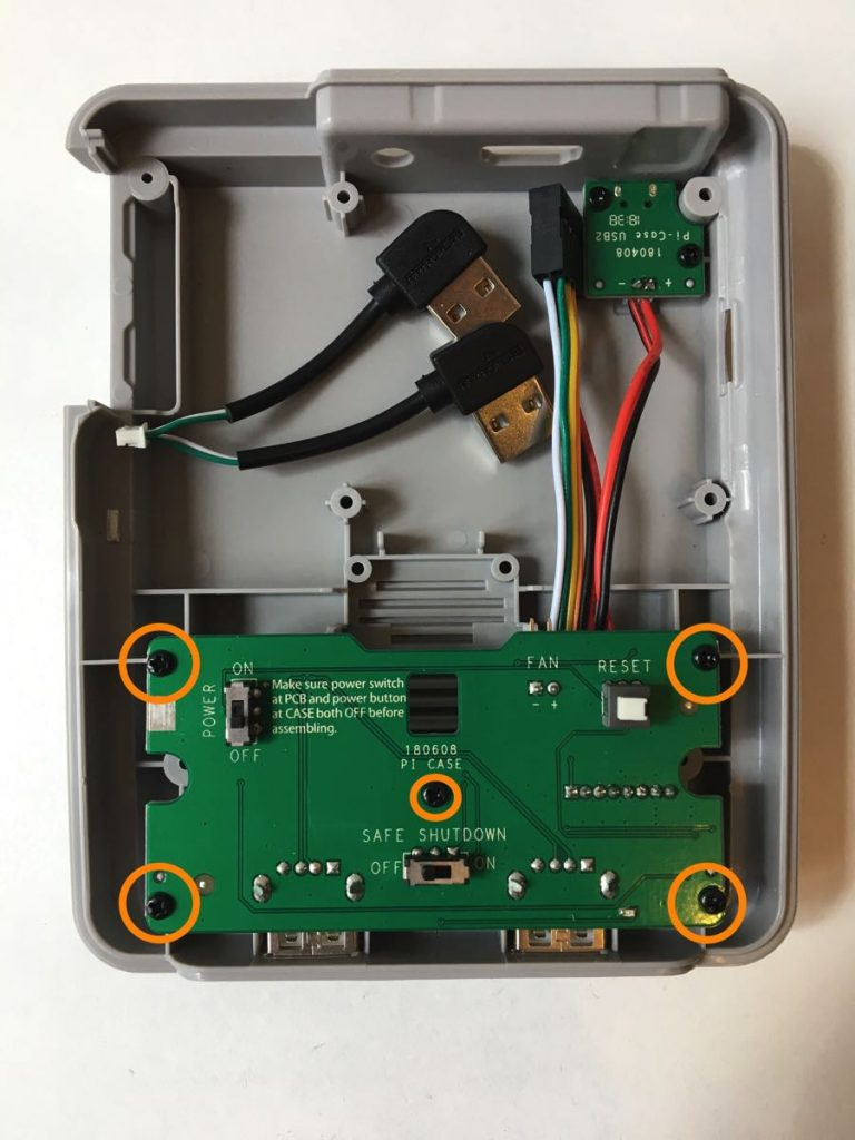 Instalación carcasa retroflag Raspberry PI