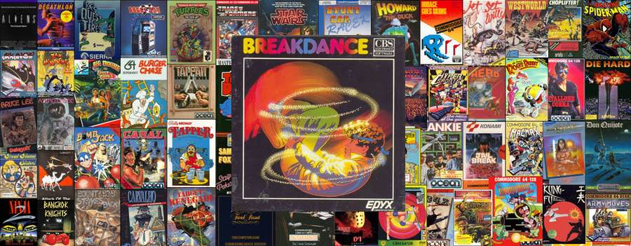 Breakdance Epyx Commodore 64