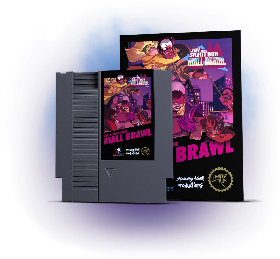 Jay and Silent Bob: Mall Brawl para NES.