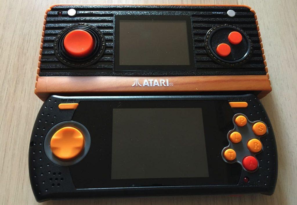 Tamaño de pantalla Atari Retro Handheld Pacman Edition