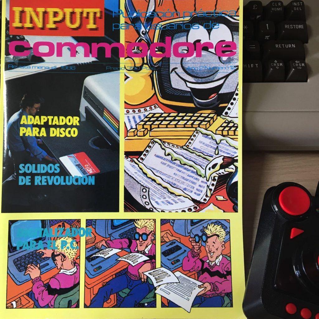 Revista Input Commodore número 12