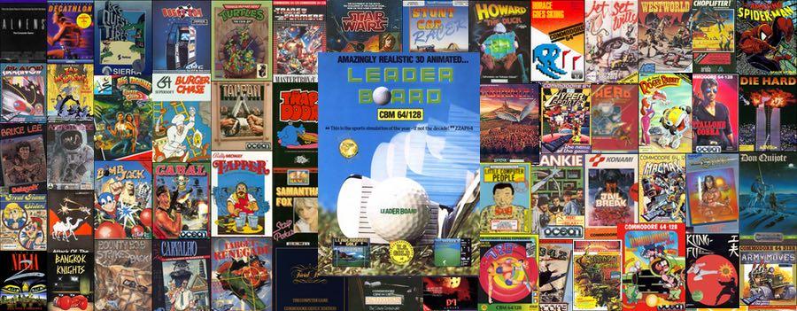 Leader Board Gold para C64