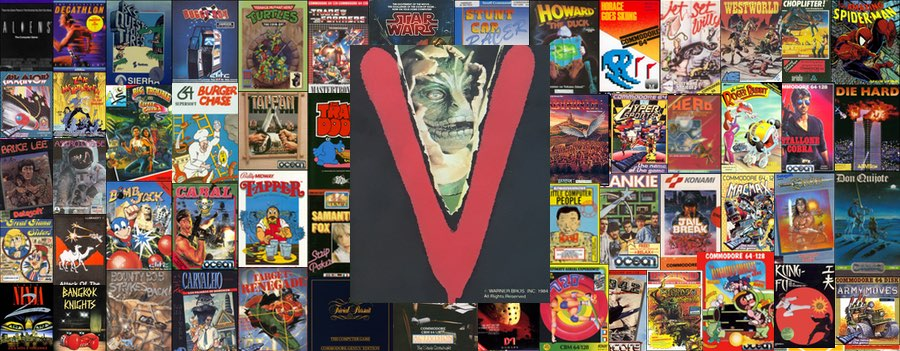 V The Game para C64