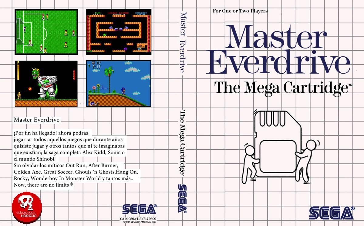 Everdrive Chino para Sega Master System