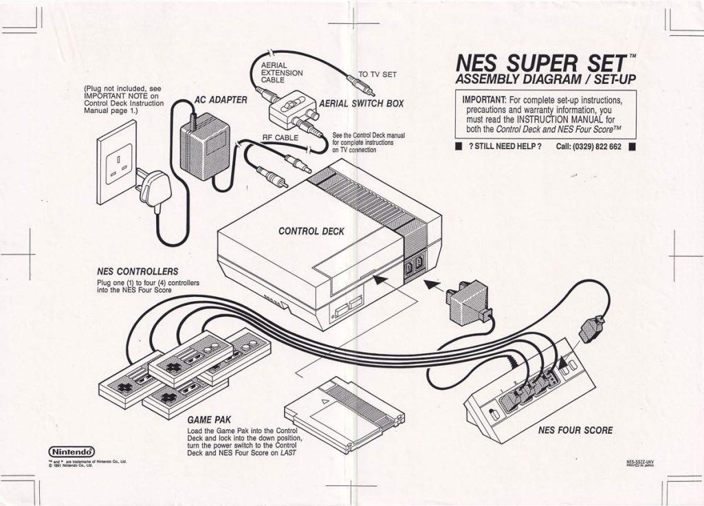 Diagrama conexión NES Super Set