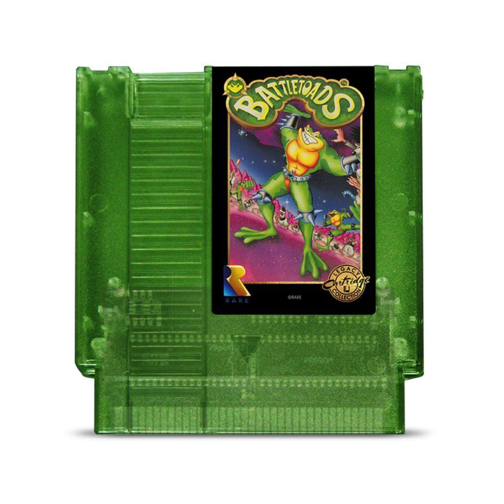 Cartucho Battletoads edición 2020 para Nintendo NES