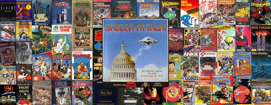 Saucer Attack C64
