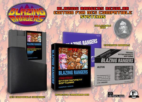 Blazing Rangers para NES