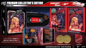 night Trap edicion limitada