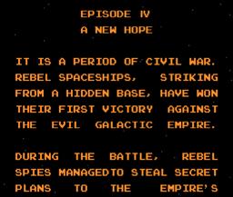 Star Wars Namcot NES
