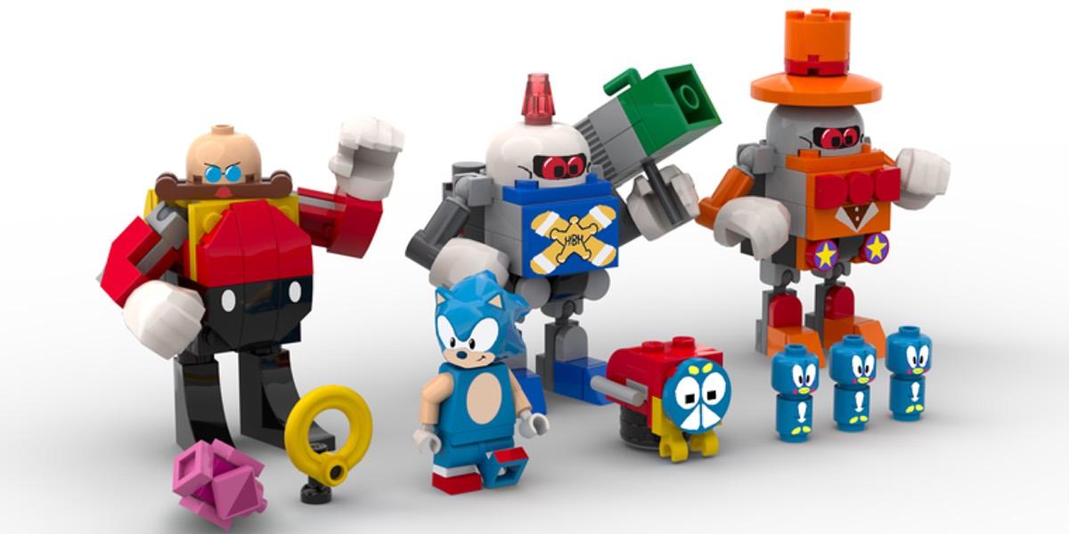 Sonic para Lego proximamente