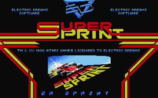 Super Sprint de Atari ST