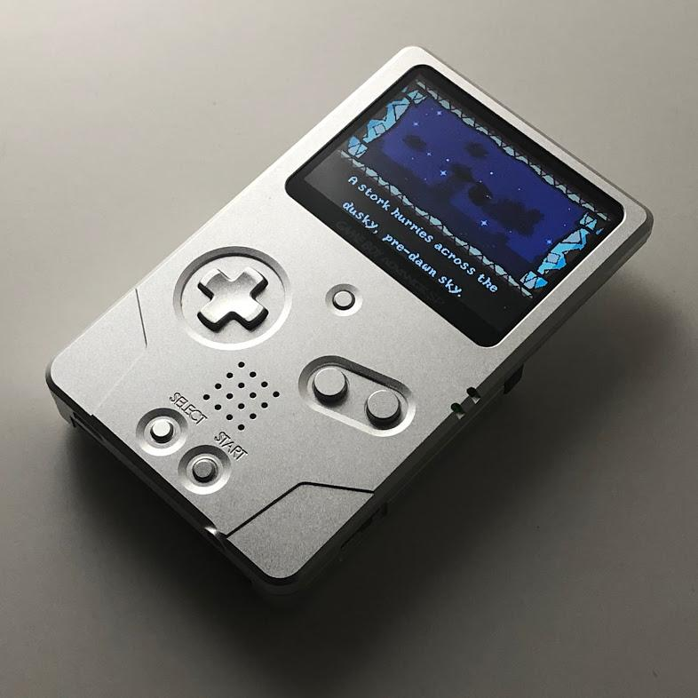 Game Boy Advance SP Unhinged