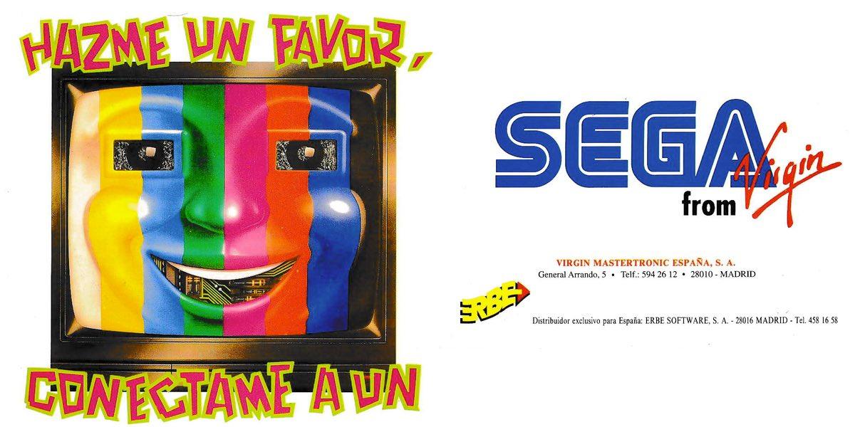 Publicidad Erbe Sega Master System