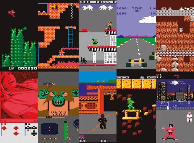 Juegos Atari XE