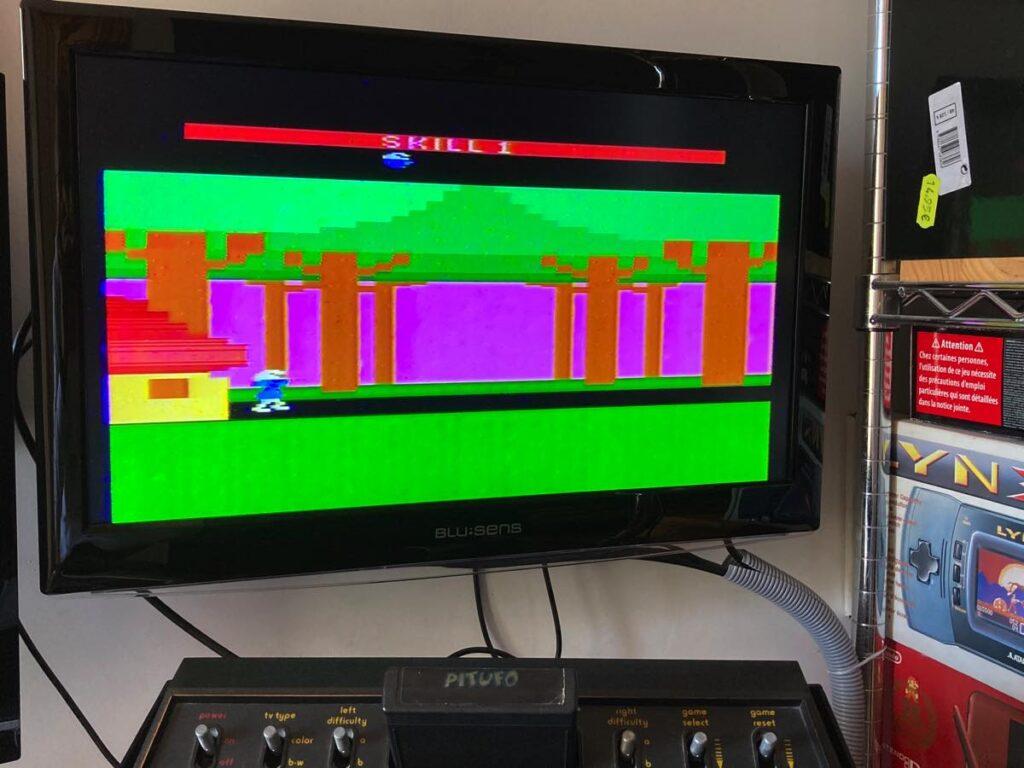 Atari 2600 Pitufo
