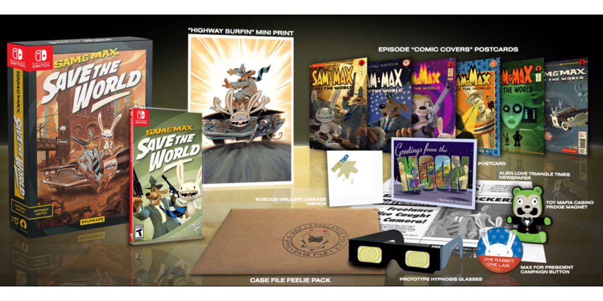 Sam Max edicion coleccionista para Switch