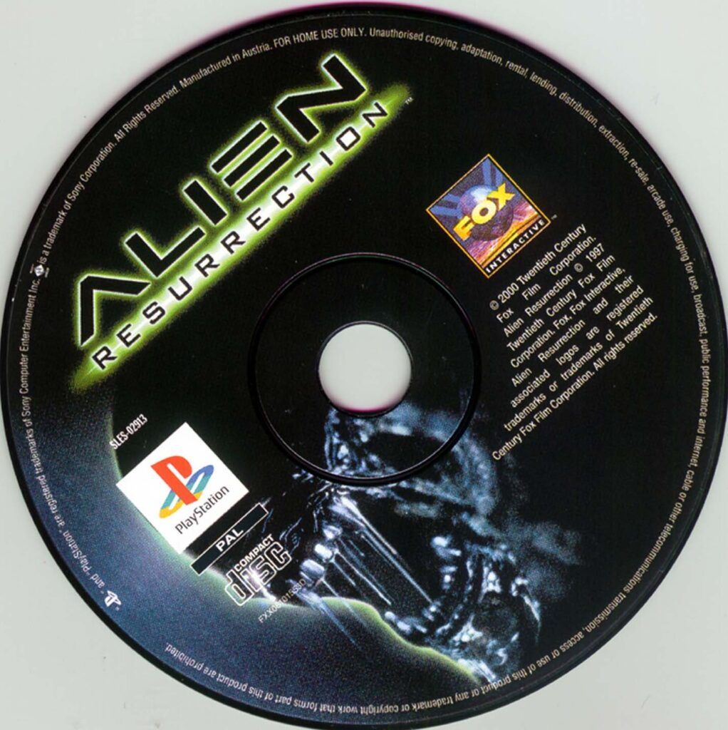Alien para PSX