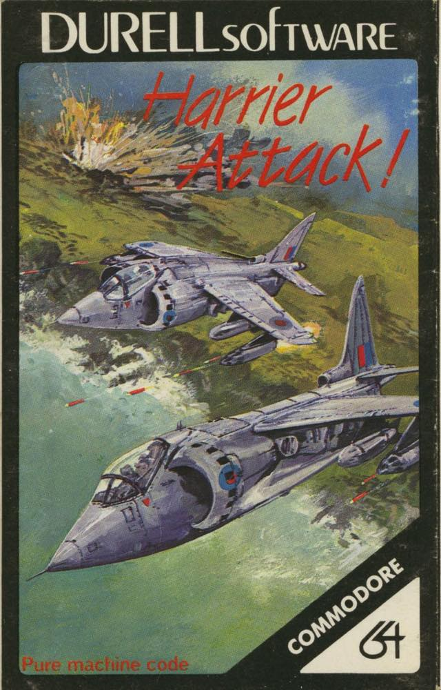 Harrier attack c64