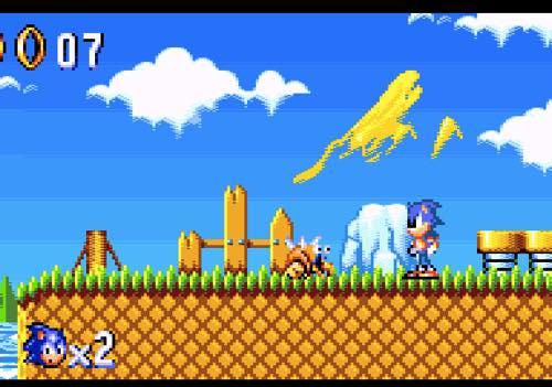 Sonic en Amstrad GX