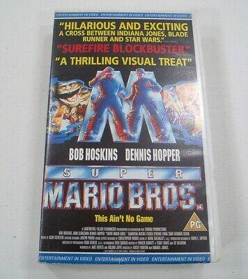 Película en VHS de Super Mario Bros