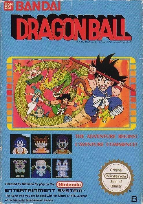 Dragon Ball Z NES PAL B