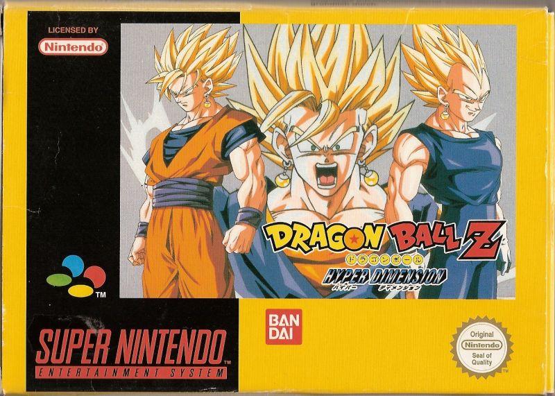 Dragon Ball Z Hyper Dimension - Super Nintendo