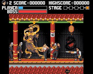 Nuevo Kung Fu Master para Commodore Amiga