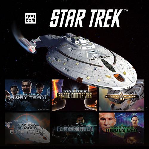 GOG trae de vuelta los juegos clásicos de Star Trek