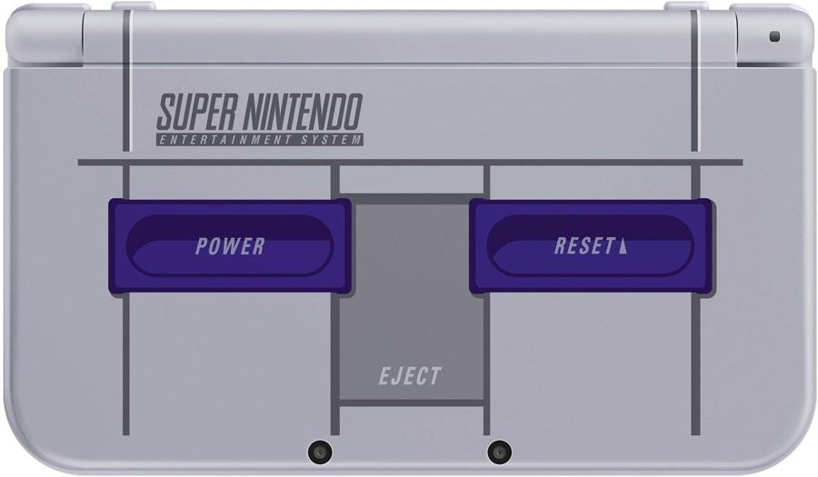 Versión Americana de la New 3DS XL SNES Edition
