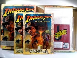 Indiana Jones and the Fate of Atlantis 5 1/4″ de Erbe (fotos)