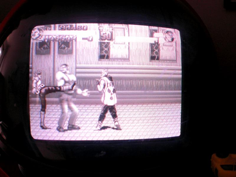 Final Fight en blanco y negro
