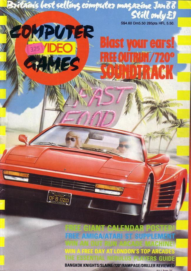 Portada Computer Videogames 1988