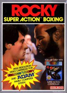 Videojuegos de la Saga Rocky: Rocky Coleco Vision