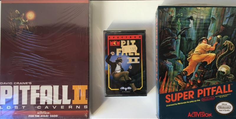 Tres versiones distintas de Atari