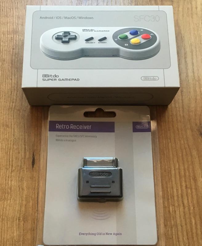 Mando bluetooth para Super Nintendo