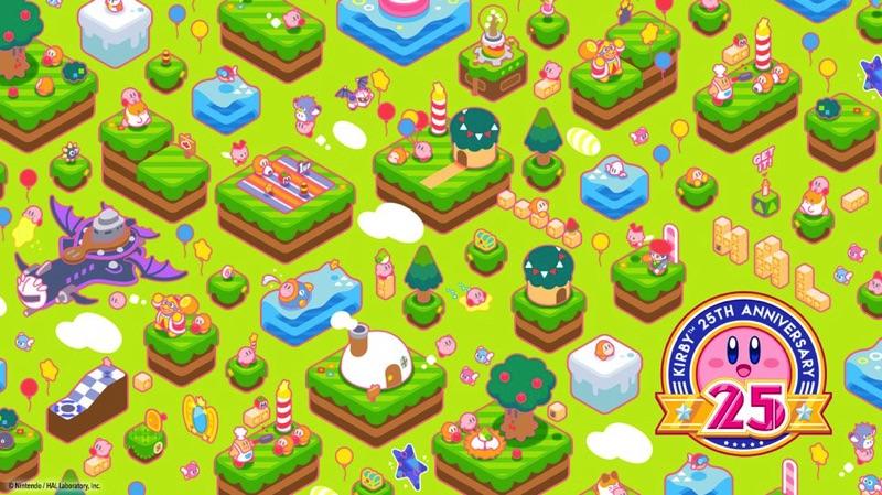 Imagen de escritorio Kirby 25 aniversario