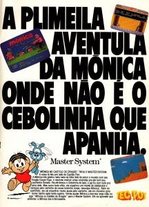 Monica No Castelo Do Dragao y la Silla de Sega
