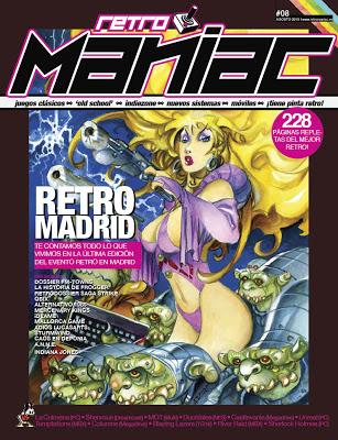 Retromaniac Número 8 con portada de Azpiri.