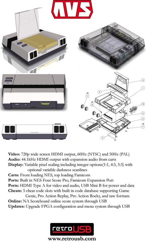 Nintendo NES salida HDMI