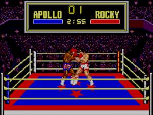 Videojuegos de la saga Rocky: Rocky Sega Master System