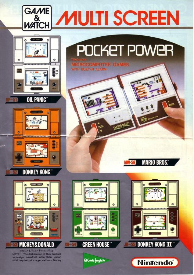 Flyer Game Watch de Nintendo
