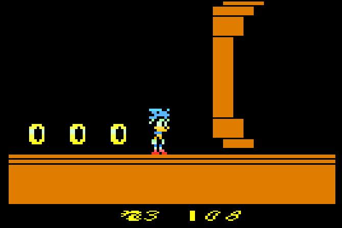 Sonic en la Atari 2600