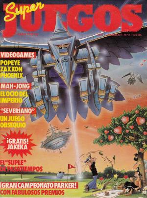 Super Juegos para todos Nº 2. La primera revista de videojuegos Española