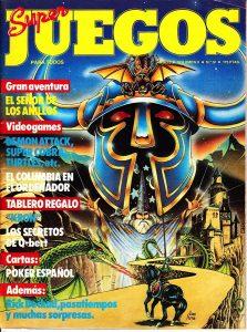 Super Juegos para todos Nº 4. La primera revista de videojuegos Española