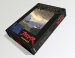 Boceto de caja para Another World de Atari Jaguar
