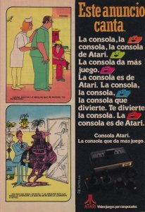 Anuncio Atari