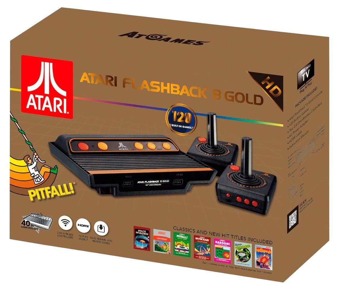 Caja Atari Flashback 8 gold