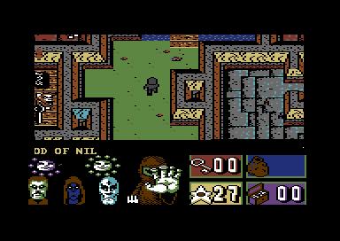 Juegos incluidos en Commodore 64 Mini: Avenger